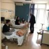 Επίσκεψη Ιλχάν Αχμέτ στους μαθητές στο νοσοκομείο Γ. Γεννηματά
