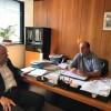 Επίσκεψη Ιλχάν Αχμέτ στον διοικητή του ΕΛΓΑ / 10-05-2017